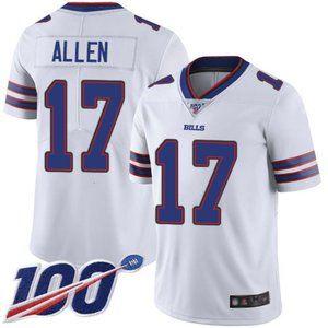 Buffalo Bills Josh Allen 100th Season Jersey